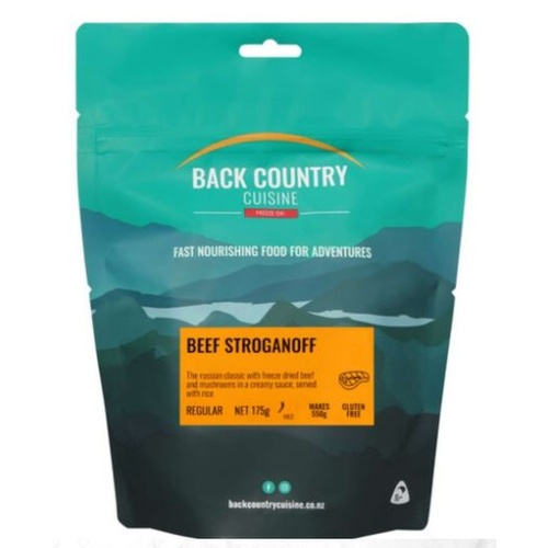 Back Country Beef Stoganoff Double Serve