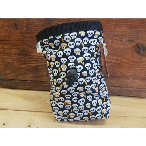 Nativa Handmade Chalkbag -  Skull Party
