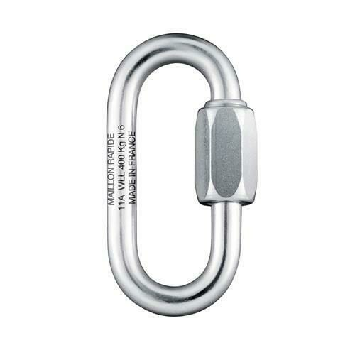 Maillon Rapide 4mm Oval (Normal) Plated Steel
