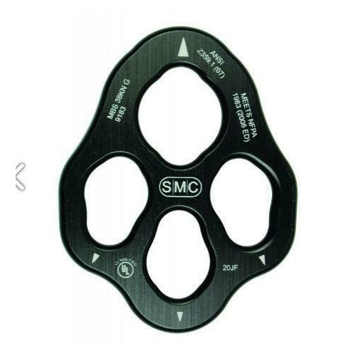 SMC Mini Rigging Plate Black