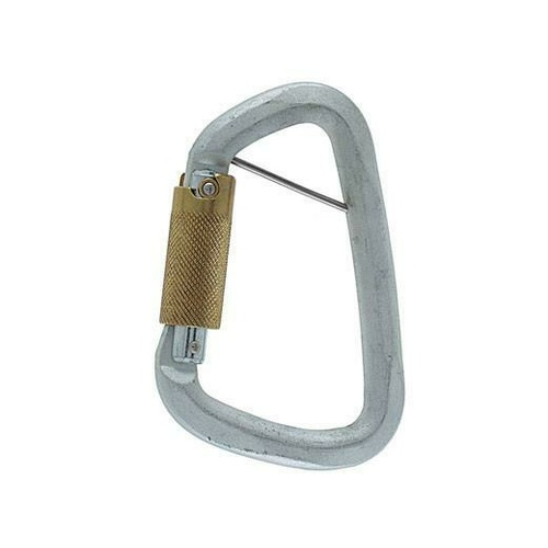 Climbing Technology Steel Triplock Carabiner with Pin